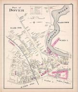Dover - Ward 2, New Hampshire State Atlas 1892 Uncolored